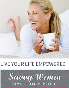 Event Registration for Savvy Women Invest on Purpose