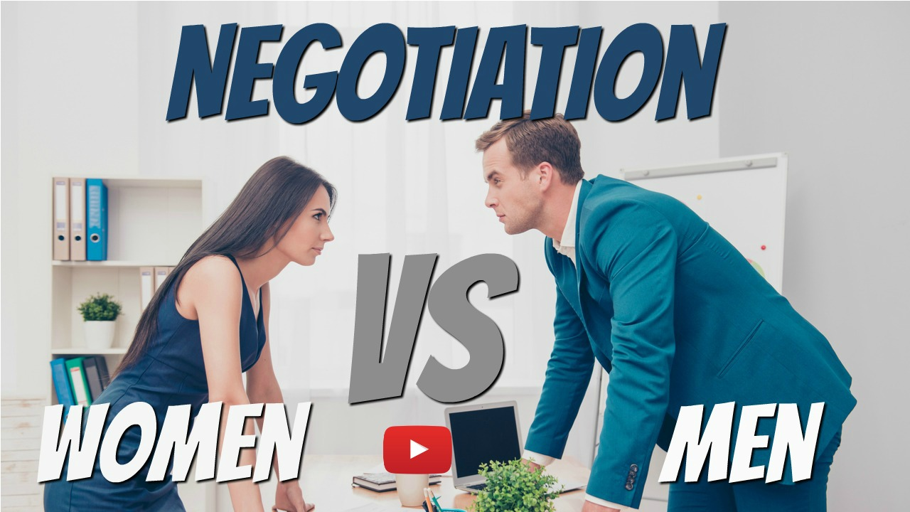 How to negotiate with men
