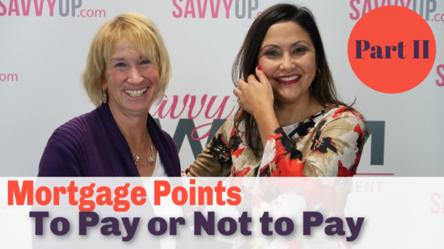 To Pay or Not To Pay Mortgage Points