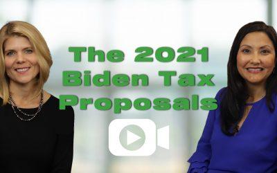 A Conversation About The 2021 Biden Tax Plan and Federal Tax Proposals